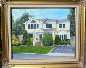 Preserve Your Photo Memories as Framed Art - 100% hand painted oil on canvas