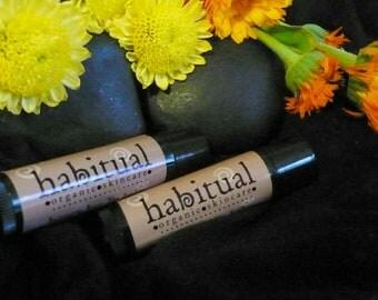Organic Lip Balm Tube - Honey Bee - Handmade & 100% Natural / Beeswax Chapstick