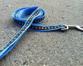 Brown Paw Print Leash