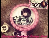 One Adorable and Couture Juicy Couture Designer  Inspired Identification ID Badge Reel