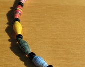 Rainbow, Paper Bead Jewelry, Paper Beads, Recycled, Upcycled, Eco-friendly, Handmade Jewelry, Hemp, Colors of the Rainbow, Equal Rights