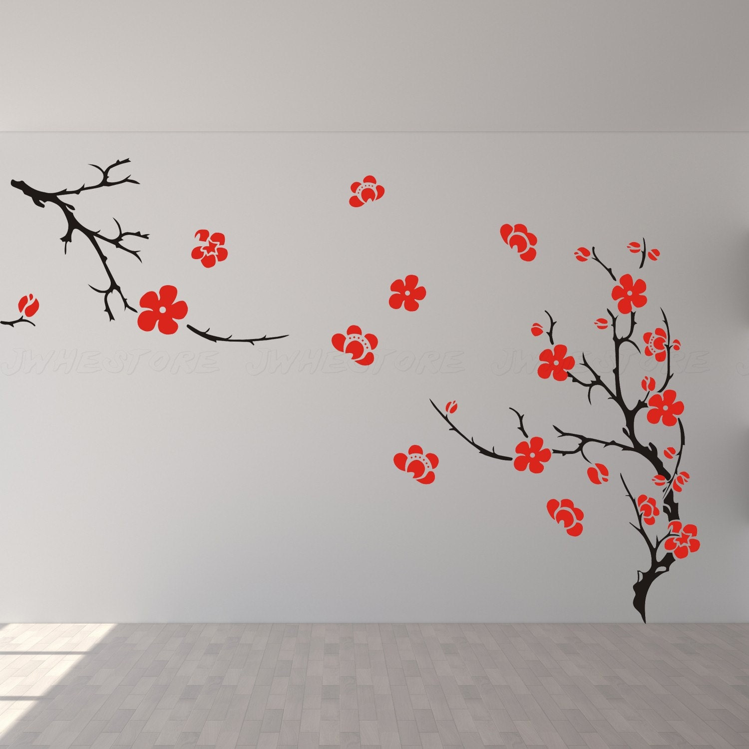Cherry Blossom Wall Decal cherry blossom wall decor wall decal wall art wall by ...