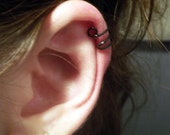 Black Wire Ear Cuff