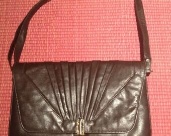Vintage 1970s Leather Handbag