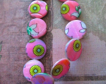 5 Brightly Colored Hippie Beads for Jewelry Making