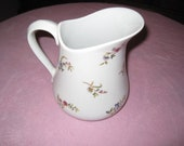 1970s White Porcelain Frieda Collection Pitcher