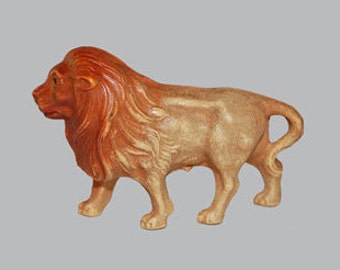 Vintage Celluloid Toy Lion with Trademark