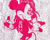 Cute Anarcho-Fem Minnie Mouse
