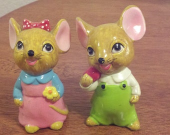 Two Cute Mice - sold as a set