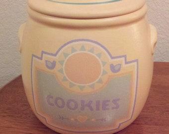 Pottery Cookie Jar