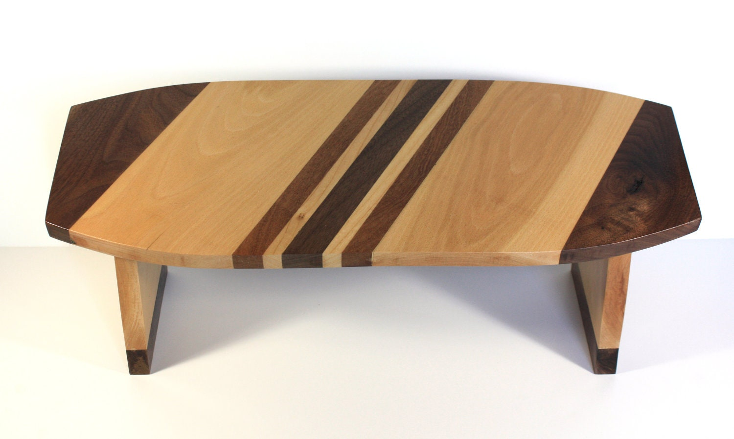 Folding Meditation Bench Featuring Maple Dark By Lhasaartisanbrand
