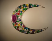 Stained Glass Moon, Moon Suncather, mn40