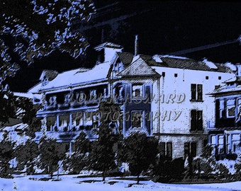 8 x 10 The Sanatorium Photograph