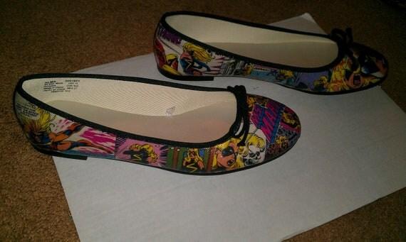 Custom Comic Flats