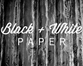 True Black and White Photo Paper - absolutely no color tint for the lifetime of your photo.