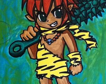 Chibi Island Boy