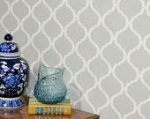 Moroccan Wall Stencil Reusable