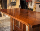 custom arts and craft dining table