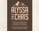 Alyssa Wedding Invitation (Printable)