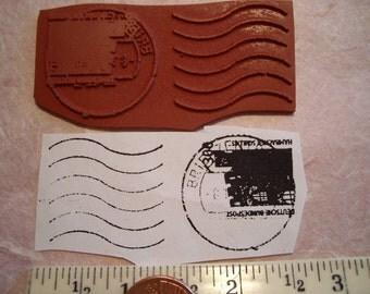 Deutsch Bunderpost  postal cancellation Rubber stamp un-mounted scrapbooking rubber stamping