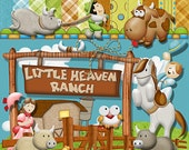 Little Heaven Ranch Digital Scrapbooking Kit