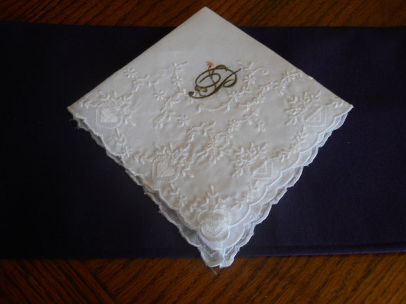 Embroidered Hankie