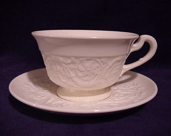 Wedgwood Patrician Cup & Saucer 2 1/2""