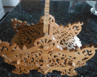 Filigree Sewing Basket