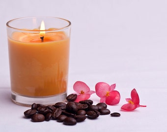 Custom Soy Wax Votive Candle - large (198g)