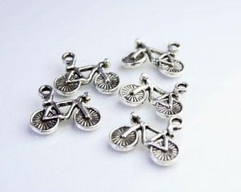 Bike Charm - Cycling Pendant Charm  SUP 037