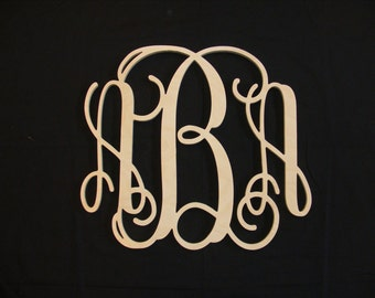 Popular items for connected monogram on Etsy