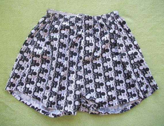 Mickey Mouse boxers high wasted shorts