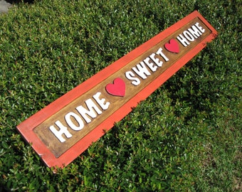 Home Sweet Home Sign - Routed
