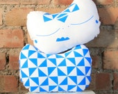 Hand Screen Printed Plush Toy