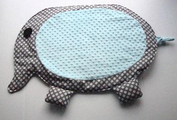 Tummy time mat, Play mat, Nap mat, Cuddle mat, Infant Play mat, Minky