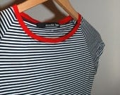 Nautical French striped t-shirt