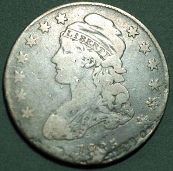 1835 US Bust Half