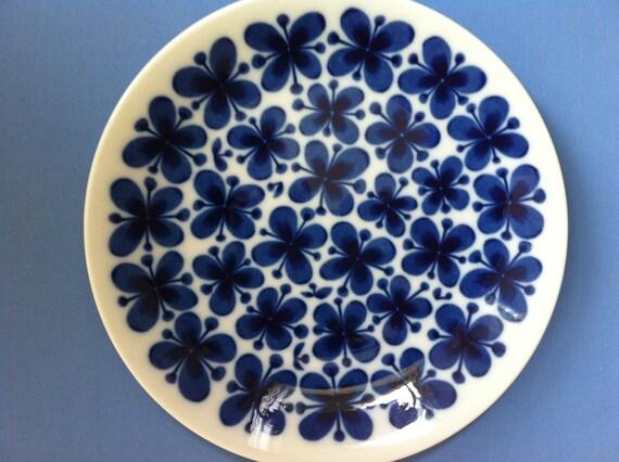 Gorgeous Vintage MON AMIE Mid Century Plate RORSTRAND Sweden