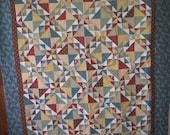 Corn & Beans Quilt Retro 1940's Fabrics 58608712