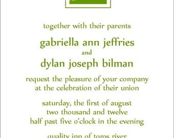 Wedding Invite Item 00155