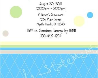 Baby Shower Invite Item 00039