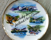 Rocky Mountain National Park Colorado Plate