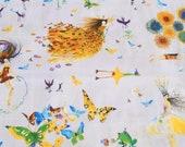 Clothworks Celebration - Joyful Girl (Y0606-26): Masha D'yans Colorful Character Fabric.