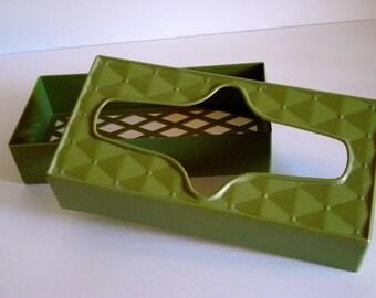 Retro Avocado Tissue Box
