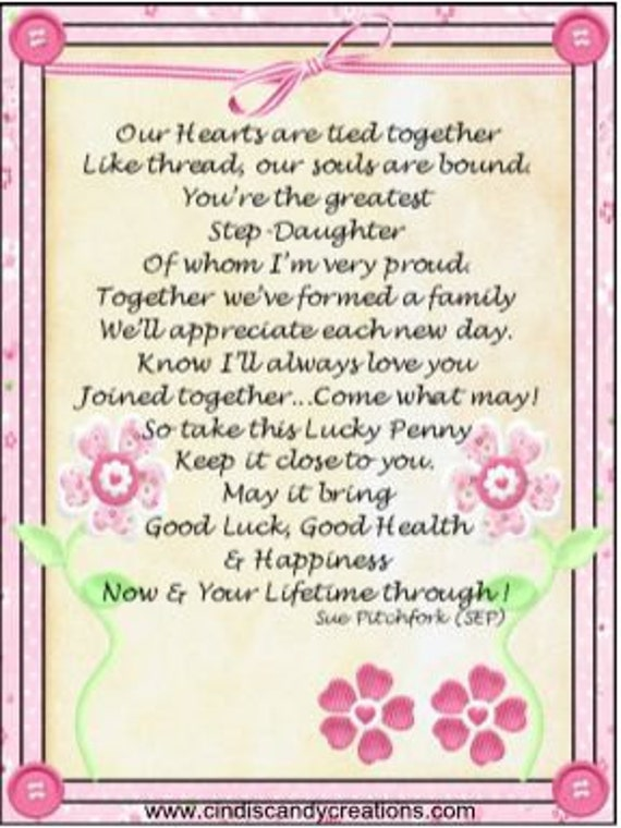 letter to my step daughter stepdaughter lucky 13504