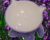 Lavender Meowchow Bowl