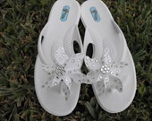 White wedding pinwheels with 100 Swarovski crystals