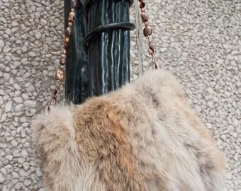 Vintage Coyote Handbag