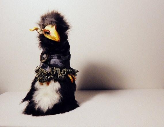 Wen - Dream Protector Yekyua - OOAK Fantasy Spirit Creature Art Doll