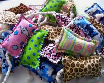 Set of 3 Pillow Mice - Cuddly Catnip Toys